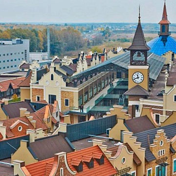 MANUFAKTURA, OUTLET VILLAGE, UKRAINE